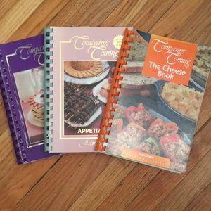 3 vintage Company's Coming cookbooks